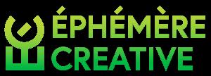éphémère creative logo